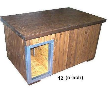 bouda 12 – příplatek: oplechování vchodu