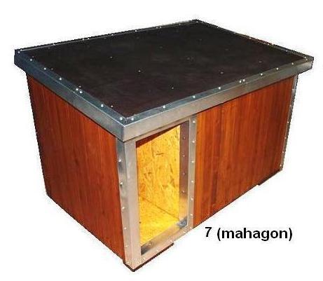 bouda 7 - příplatek: oplechování vchodu a hran, guma na střeše (individuální výpočet ceny)
