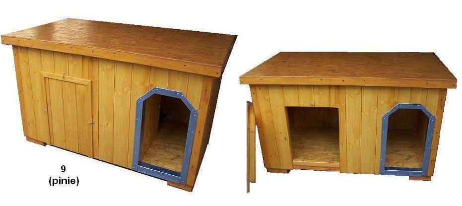 bouda 9 – příplatek: oplechování vchodu, vchod nahoře zkosený (bráno jako do oblouku), speciální dvířka v přední stěně (individuální výpočet ceny)