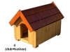 bouda 4 - příplatek: vchod nahoře do oblouku, dřevěný šindel na střeše (individuální výpočet ceny)