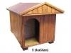 bouda 5 – příplatek: vchod nahoře do oblouku, na střeše pásová střešní šindelová krytina Bituelast