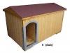 bouda 6 – příplatek: oplechování vchodu, oblouk u vchodu nahoře, na střeše pásová šindelová střešní krytina Bituelast